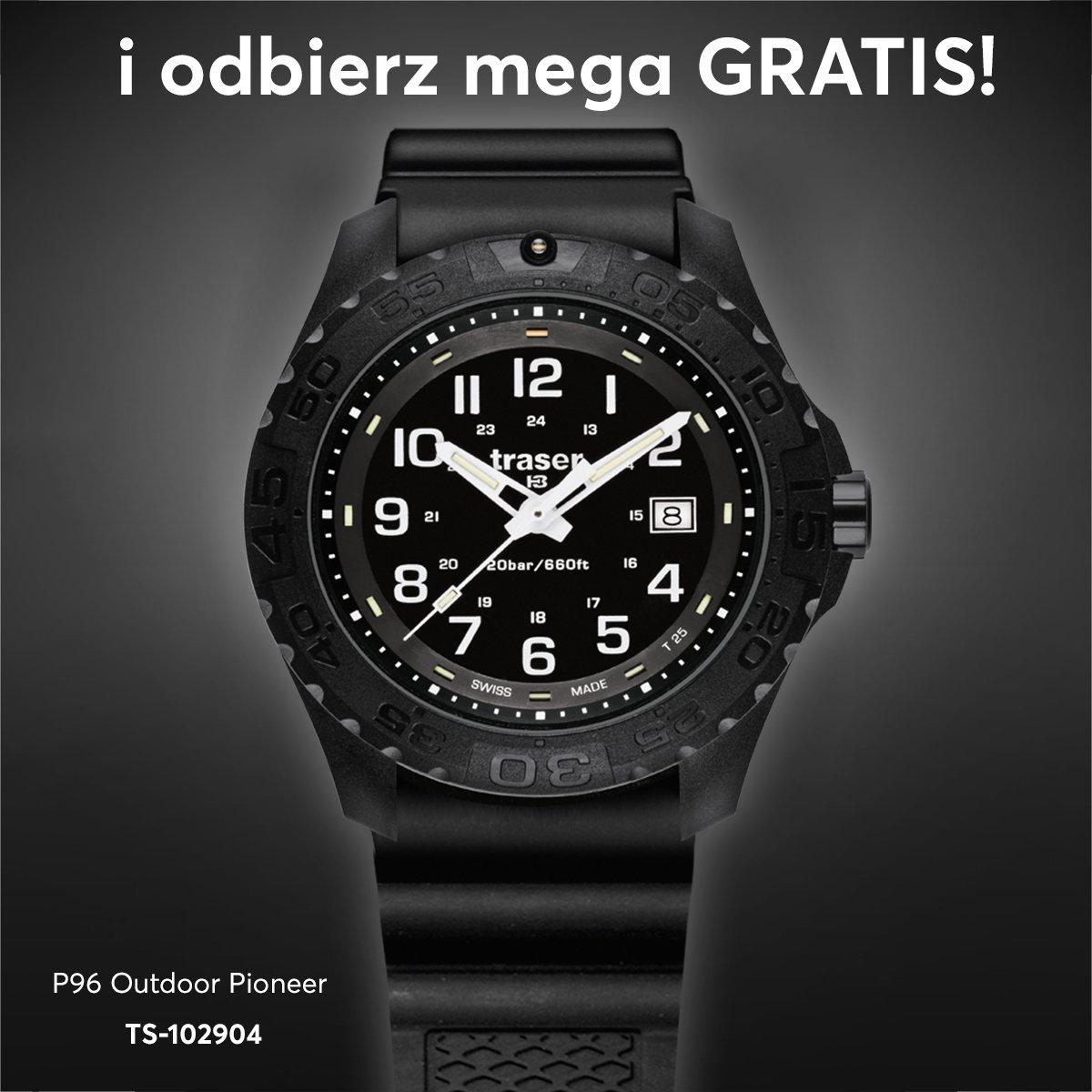 Niezwykle atrakcyjne paski do zegarka Traser.