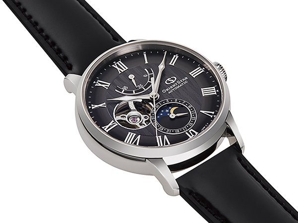 Specyfikacja techniczna zegarków Orient Star Mechanical Moon