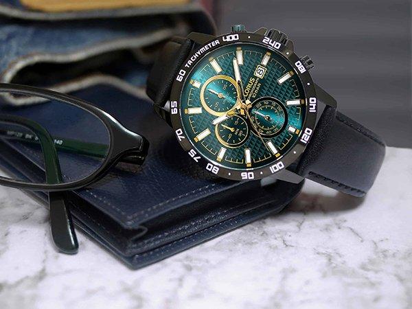 Zegarek Lorus z chronografem