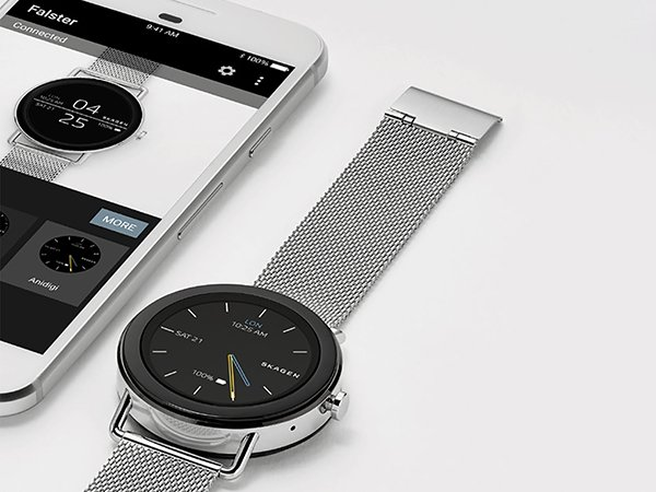 Nowoczesne smartwatche Skagen Falster