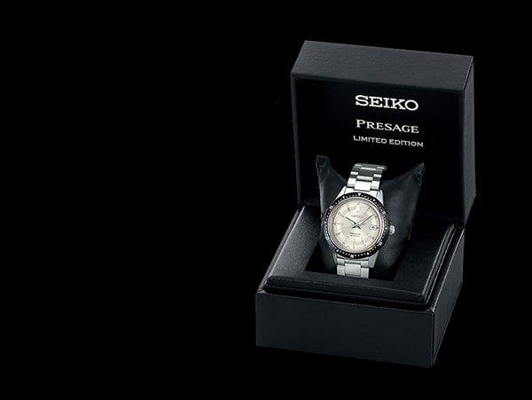 Limitowany zegarek Seiko Presage w pudełku