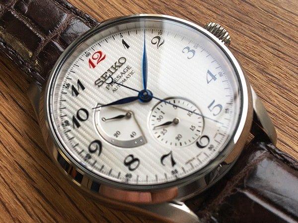 Zegarek Seiko Presage w stylu vintage
