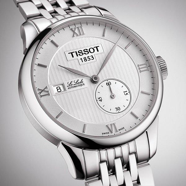 Klasyczny zegarek Tissot dla niego