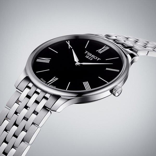 Męski elegancki zegarek Tissot