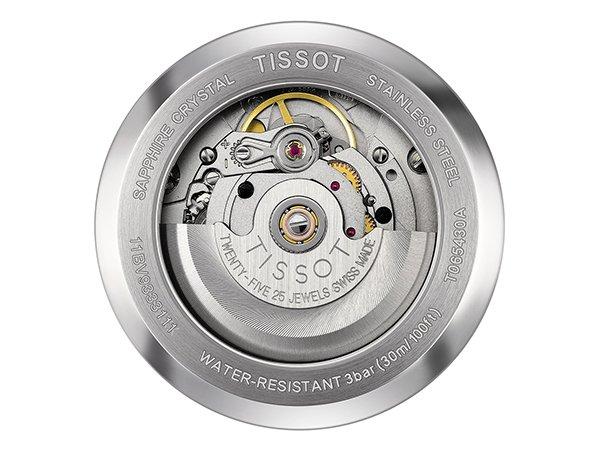 Szwajcarska precyzja wykonania w Tissot Automatics III
