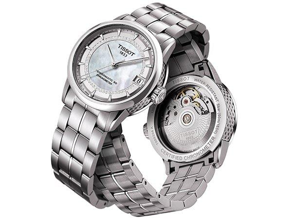 Automatyczny zegarek Tissot z certyfikatem COSC.