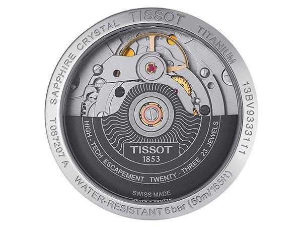 Szwajcarska precyzja wykonania w zegarkach Tissot Titanium