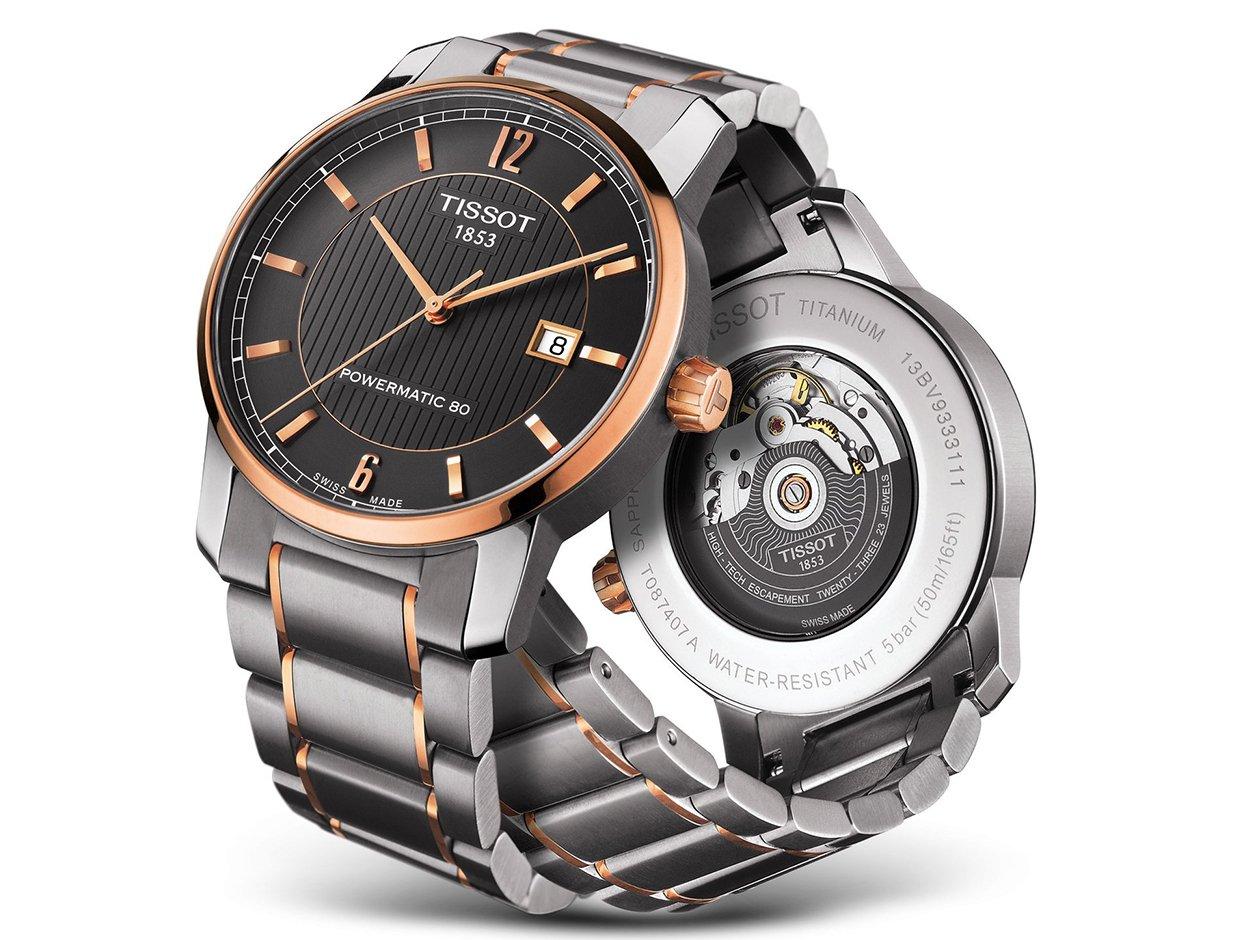 Męski zegarek Tissot Classic.