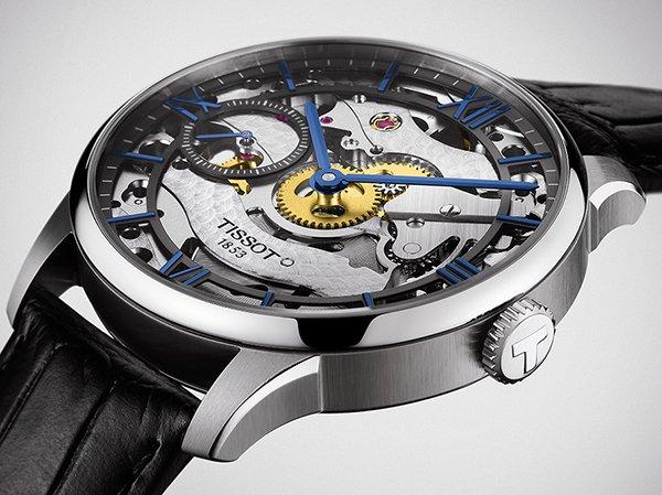 Zapierjący dech w piersiach mechaniczny zegarek Tissot