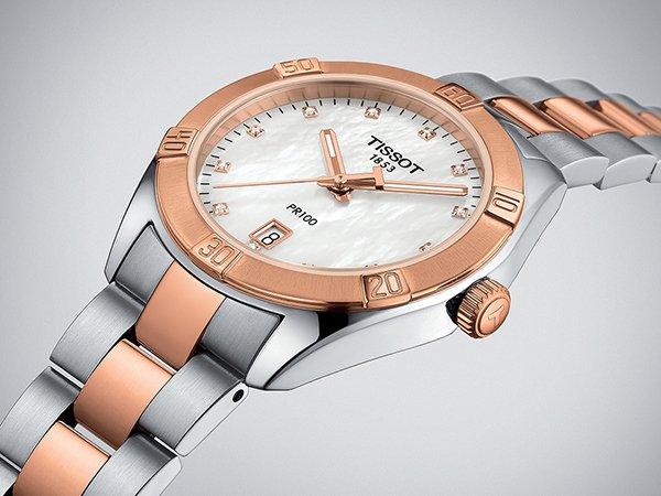 Ekskluzywny dodatek, czyli złoty zegarek damski Tissot