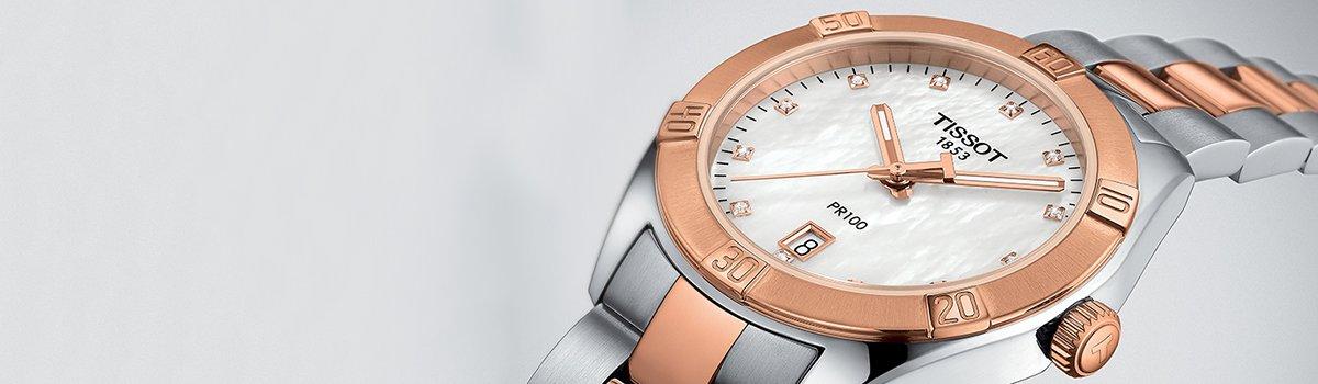 1 zegarek damski tissot t101.210.33.031.00 pr 100