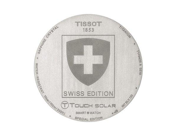 Niezwykłe detale zegarka Tissot T-Touch Swiss Edition