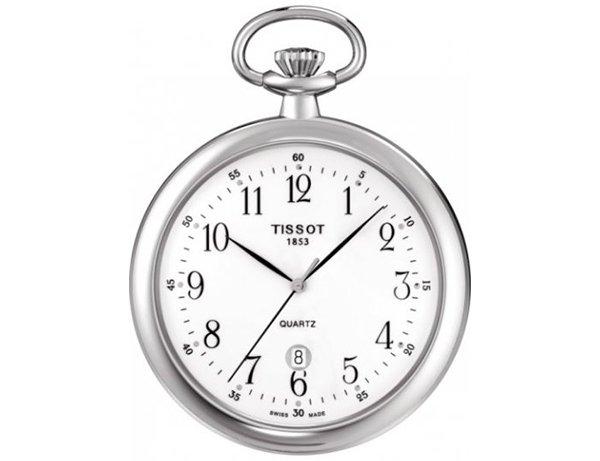 Szwajcarski zegarek Tissot w srebrnym kolorze