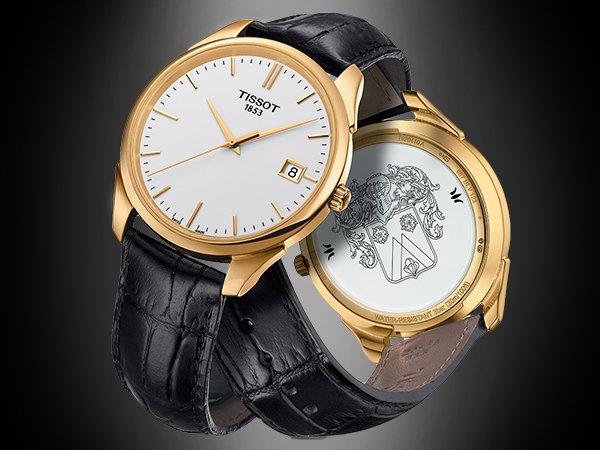 Złote zegarki Tissot na wiele okazji