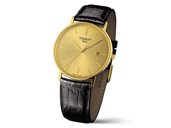 złoty zegarek tissot goldrun