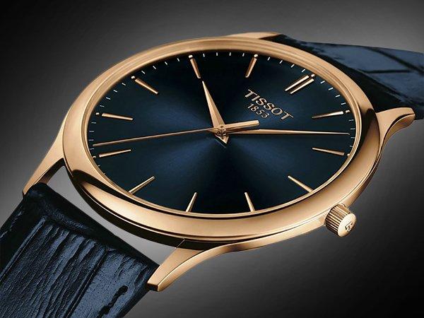 Zegarki Tissot z 18-karatowego złota