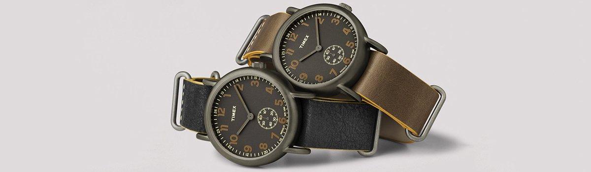 Modne zegarki Timex Weekender