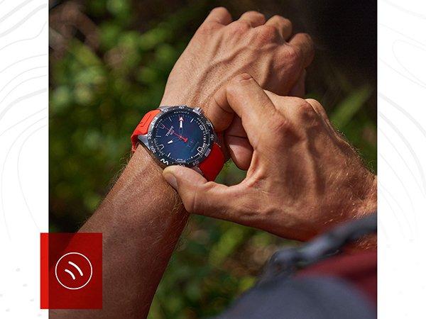 Dynamiczne wzornictwo zegarka sportowego Tissot T-Touch