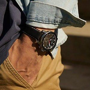 Stylowy zegarek Tissot Supersport Chrono pasujący do wielu stylizacji