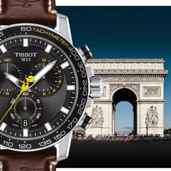 Budowa Tissot Super Sport Chrono Tour de France 2020 Special Edition