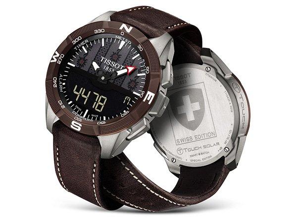 Szwajcarska edycja szwajcarskiego zegarka Tissot T-Touch Swiss Edition