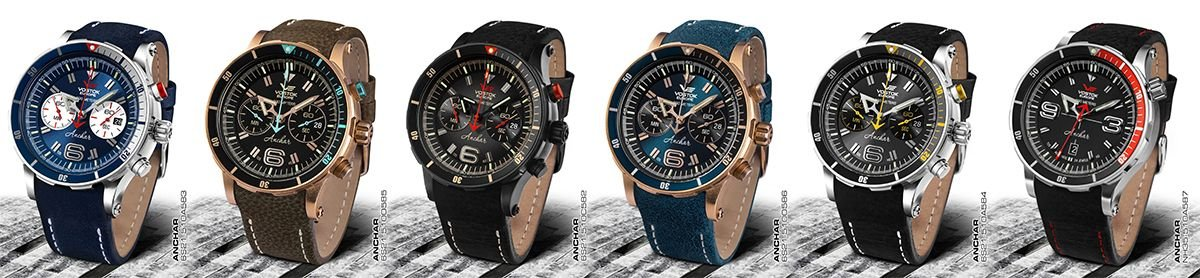 Nowa kolekcja zegarków Vostok Europe Almaz zaprezentowana w 2020roku
