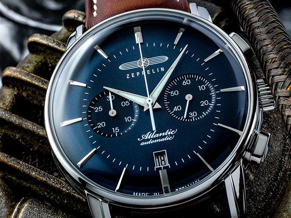 Niezwykły zegarek Zeppelin z kolekcji Atlantic