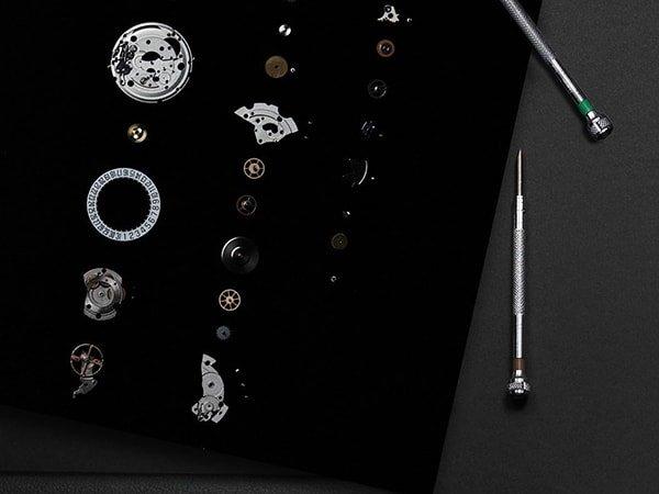 Specyfikacja techniczna zegarków Tissot