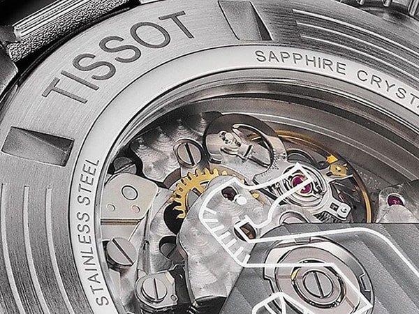 Mechanizm zegarka Tissot