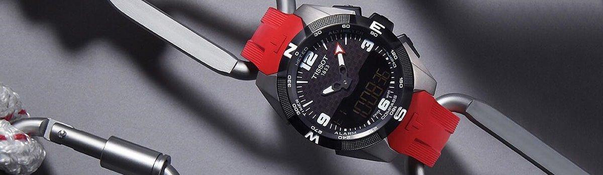 Zegarek dotykowy zasilany energią słoneczną