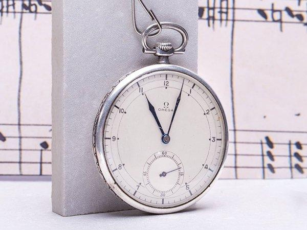 Niegdysiejszy symbol elit jakim był zegarek kieszonkowy marki Omega