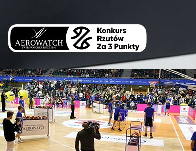 Kolejny rok współpracy Aerowatch z polską koszykówką i zapowiedź nowego zegarka