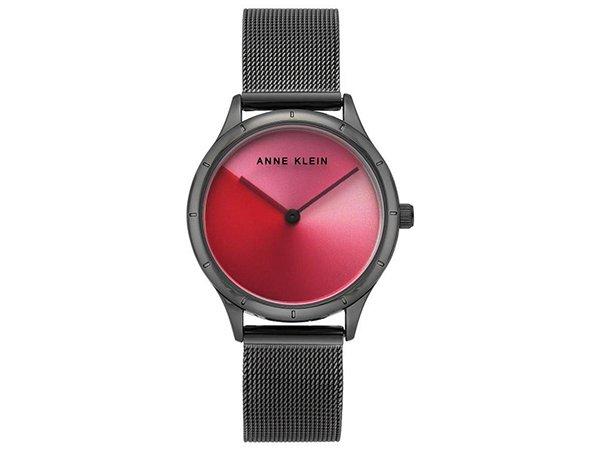 Zegarki Anne Klein z czerwona tarcza