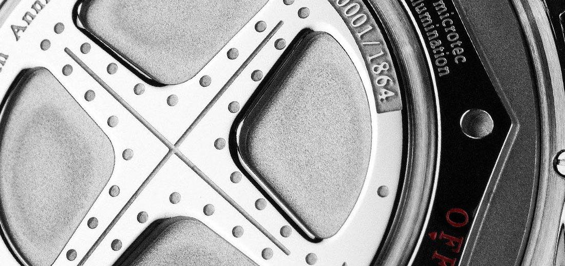 Specjalny system Amortiser powodujące, że zegarki Ball są bardziej wytrzymałe.