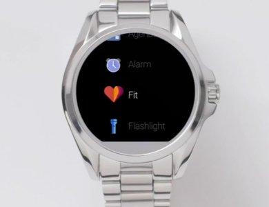 Aplikacja Google Fit w smartwatchu Michael Kors Accsess