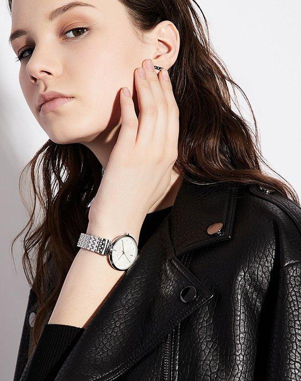 stylowe zegarki armani exchange