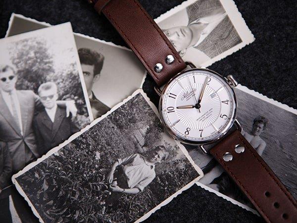 Jaki zegarek Atlantic na pasku wybrać.