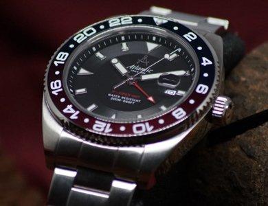 Zegarki Atlantic Mariner - nowa odsłona nurków