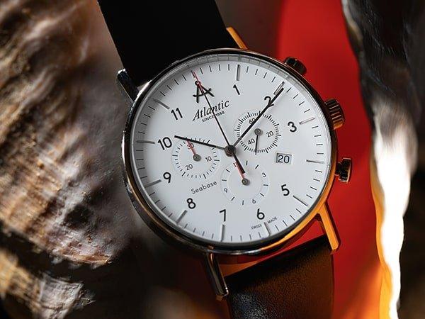 Męskie zegareki Atlantic jako doskonałość szwajcarskiego zegarmistrzostwa.