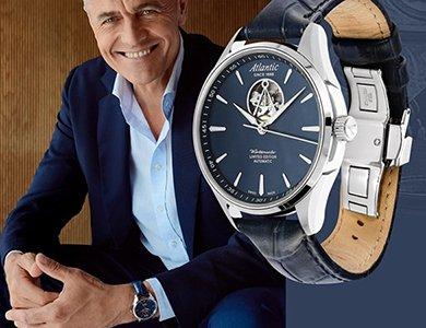 Poznaj nowe zegarki Atlantic Worldmaster Open Heart Limited Edition