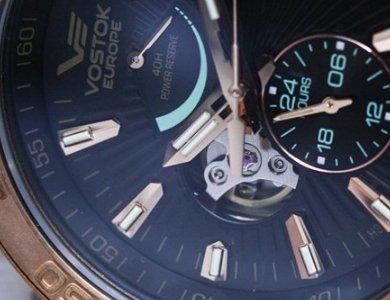 Limitowany zegarek Vostok Europe Energia Rocket Bronze Automatic