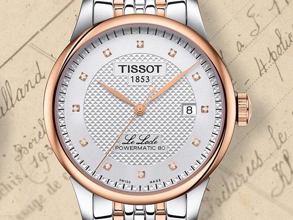 Prestiż i elegancja w zegarkach Tissot Le Locle