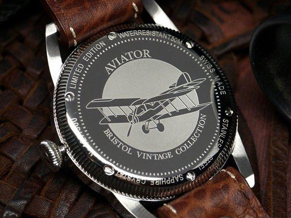 Wyjątkowy zegarek Aviator Vintage
