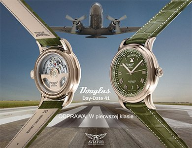 Co pokaże marka Aviator w 2021 roku? Kulisy powstawania nowego zegarka Aviator Douglas Day-Date!