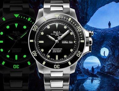 Nowy chronometr marki Ball na 15-lecie serii Engineer Hydrocarbon.