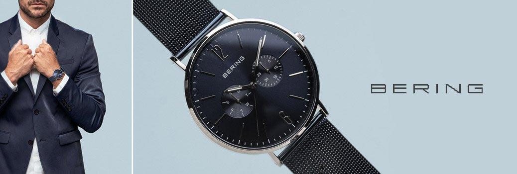 Męski zegarek Bering inspirowany Arktyką.