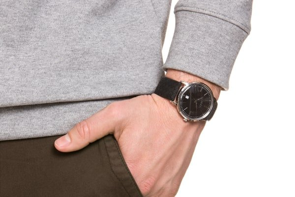 Unikalny wzór w zegarku Joop!