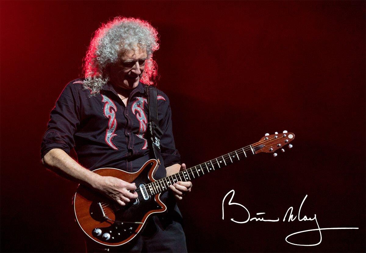 Brian May z gitarą Red Special inspiracją dla marki Seiko