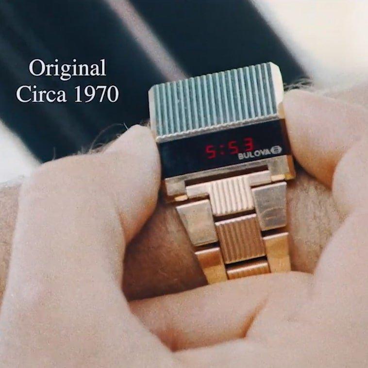 Bulova Led Computron jako zegarek przyszłości