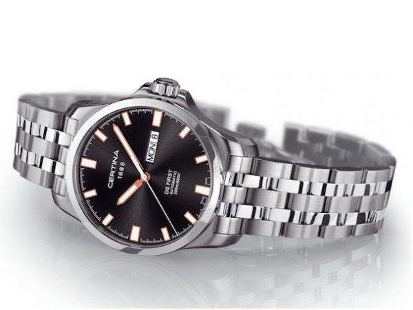 Budowa zegarków Certina DS First